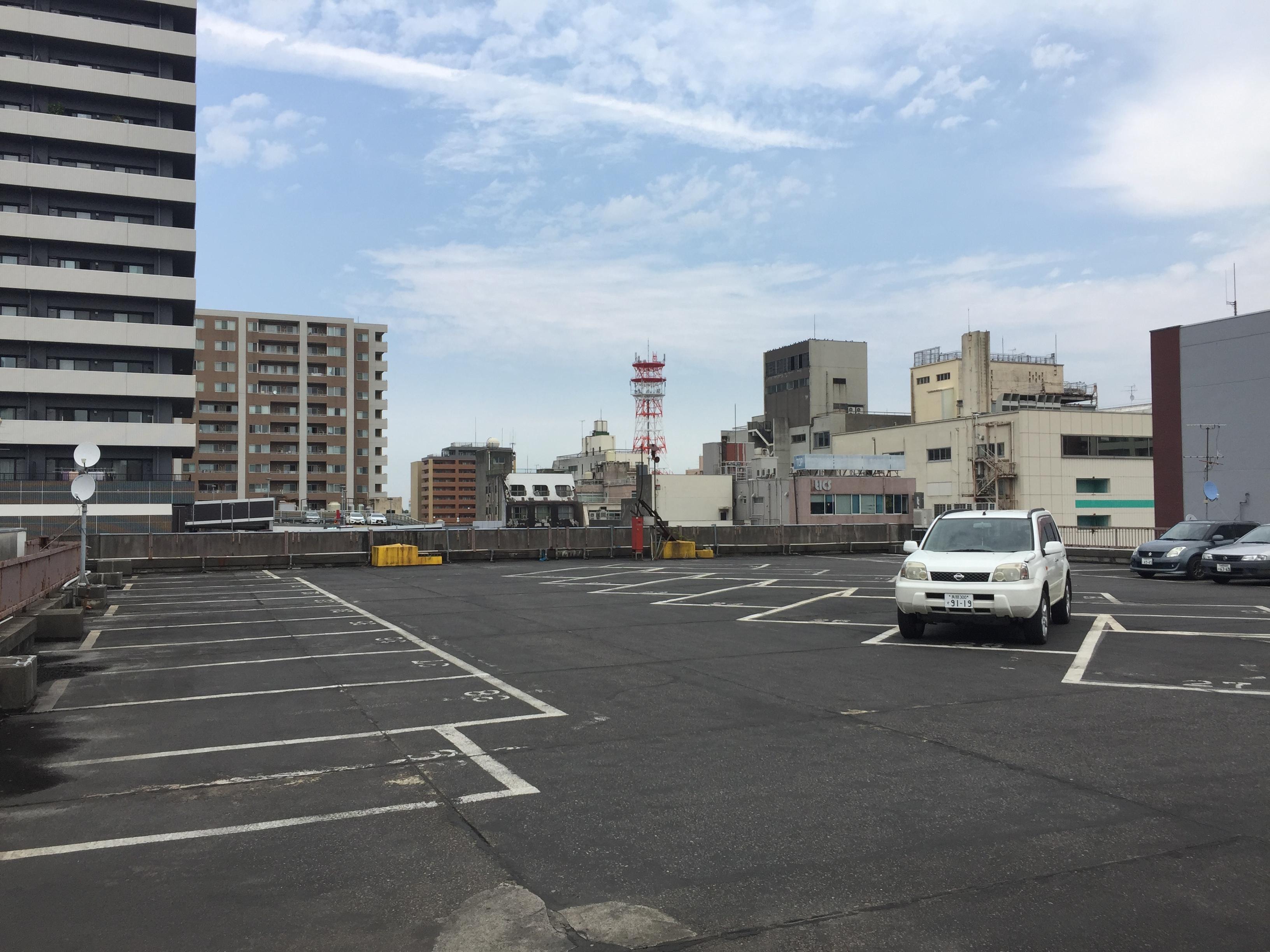 【駐車場】ショップイン大手ビルパーキング